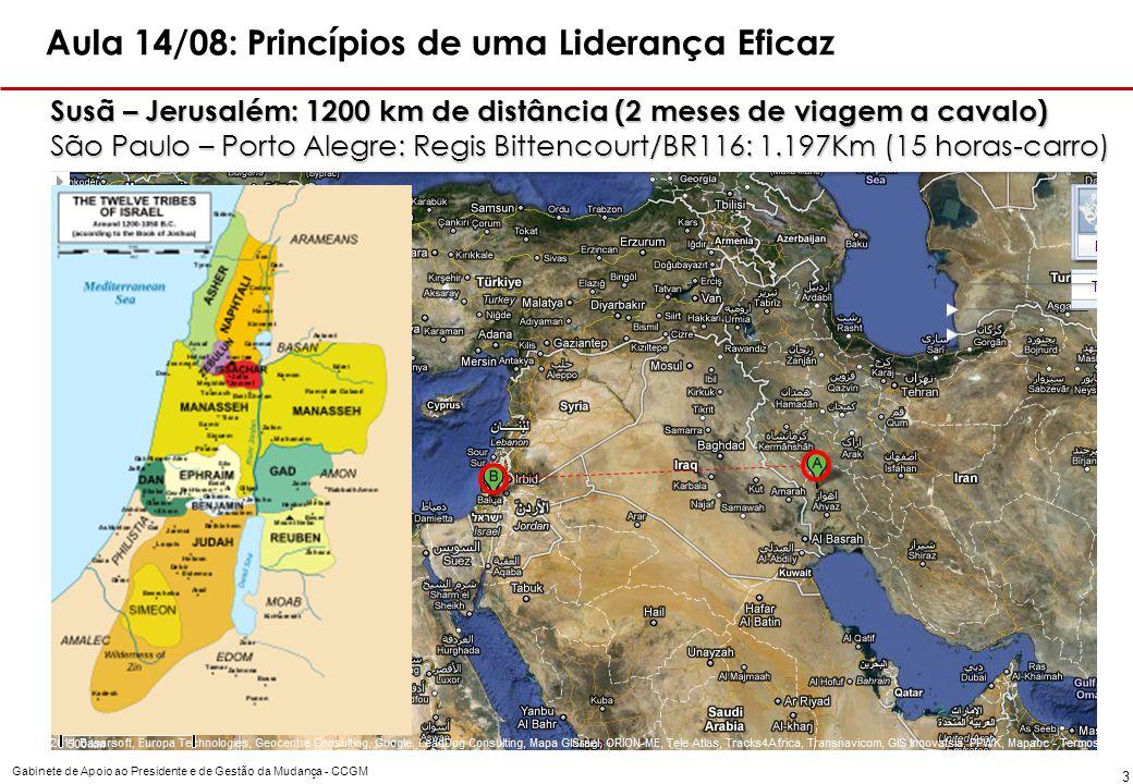 Aula 14/08: Princípios de uma Liderança Eficaz
