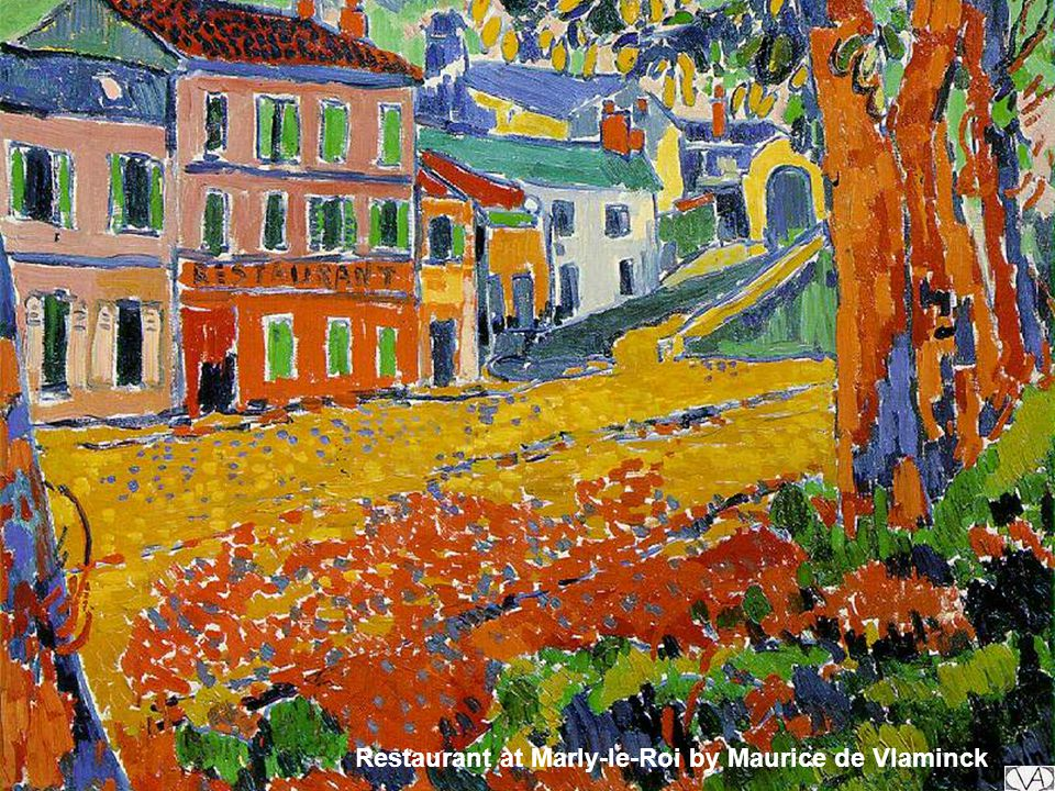 Restaurant at Marly-le-Roi by Maurice de Vlaminck