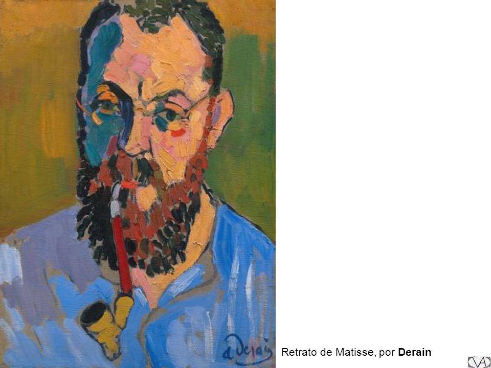 Retrato de Matisse, por Derain