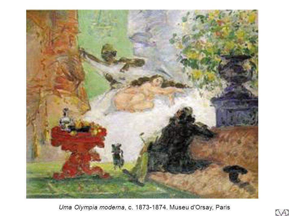 Uma Olympia moderna, c. 1873-1874. Museu d Orsay, Paris