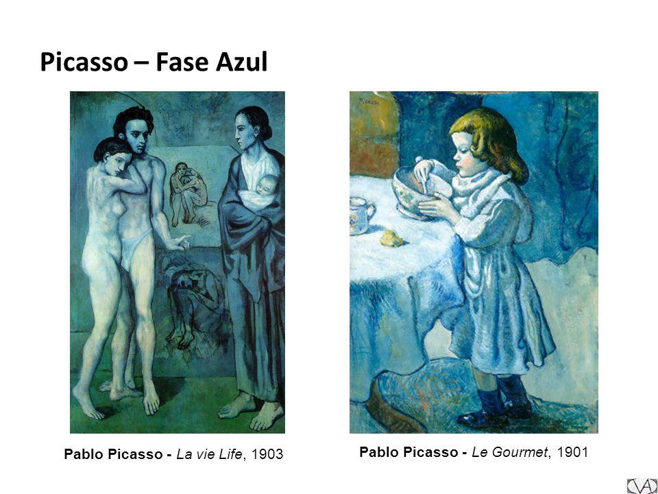 Picasso – Fase Azul Pablo Picasso - La vie Life, 1903