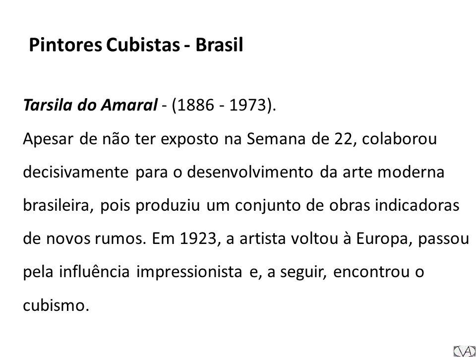 Pintores Cubistas - Brasil