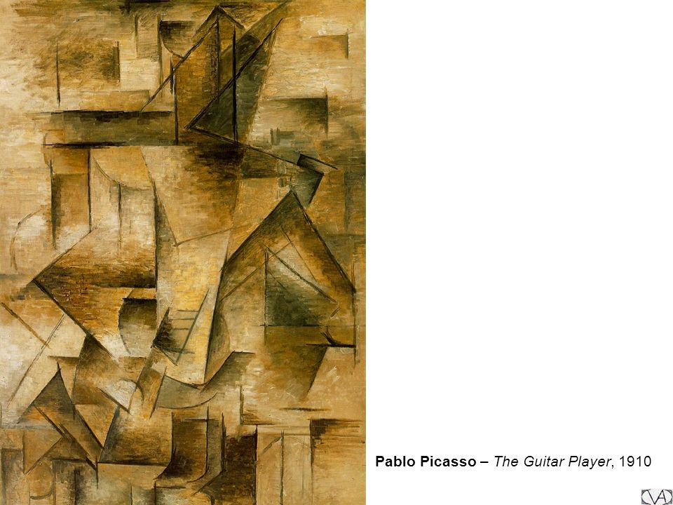 Pablo Picasso – The Guitar Player, 1910