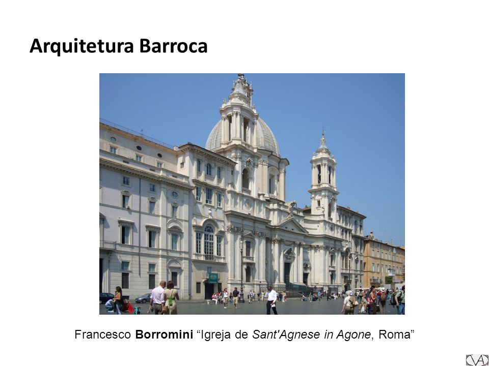 Francesco Borromini Igreja de Sant Agnese in Agone, Roma