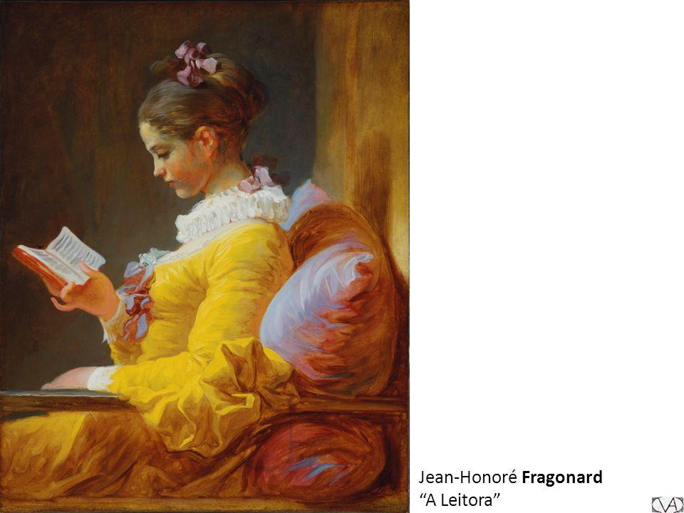 Jean-Honoré Fragonard A Leitora