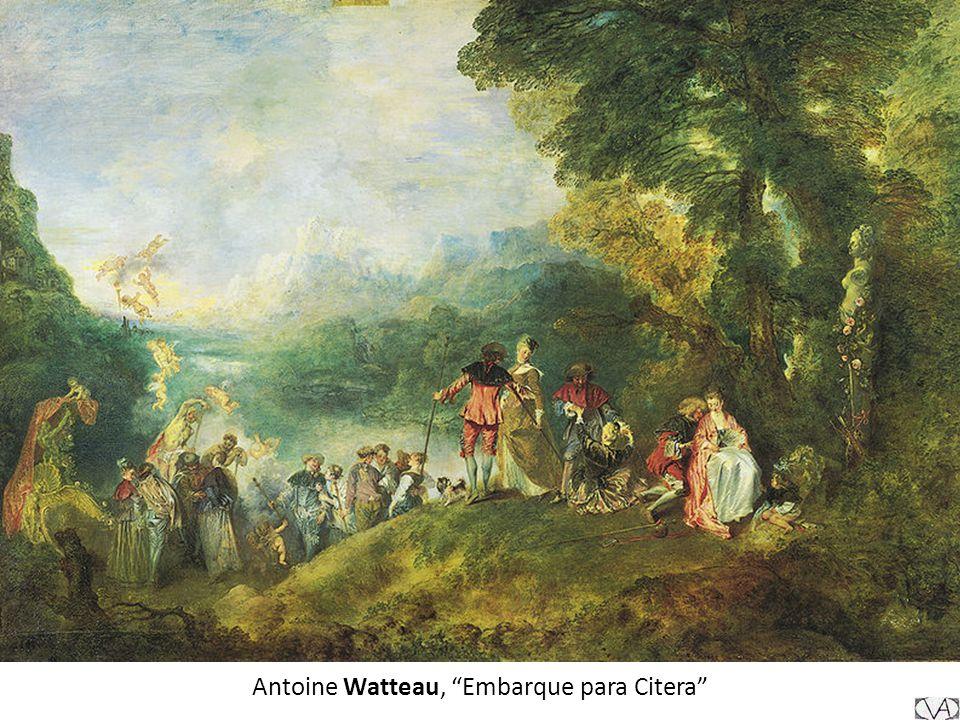 Antoine Watteau, Embarque para Citera