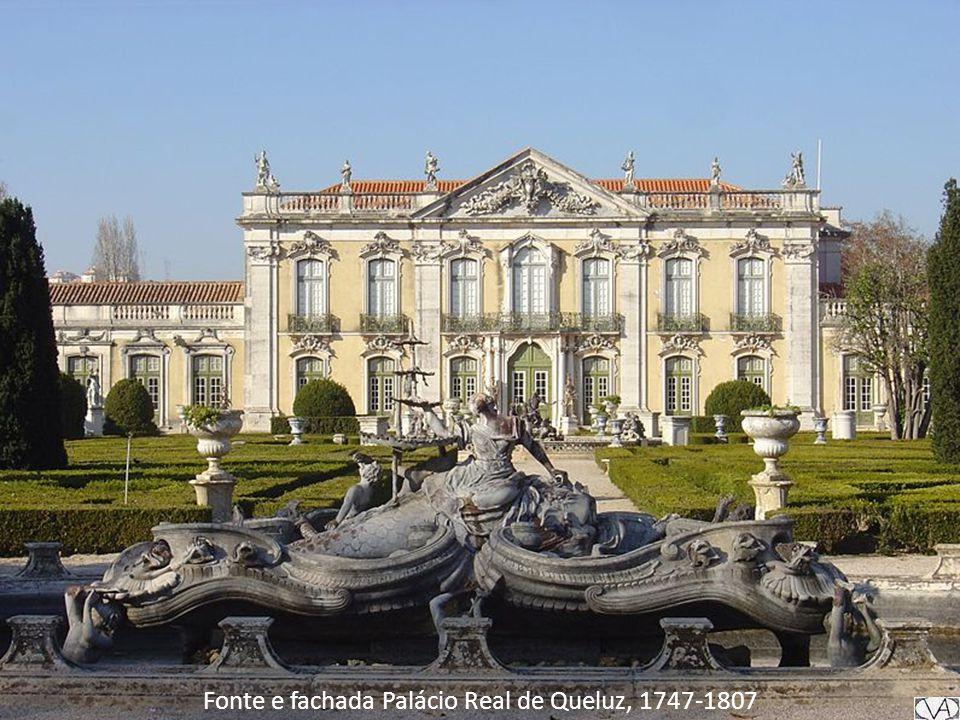 Fonte e fachada Palácio Real de Queluz, 1747-1807