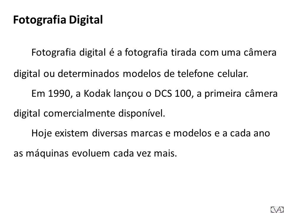 Fotografia Digital Fotografia digital é a fotografia tirada com uma câmera digital ou determinados modelos de telefone celular.