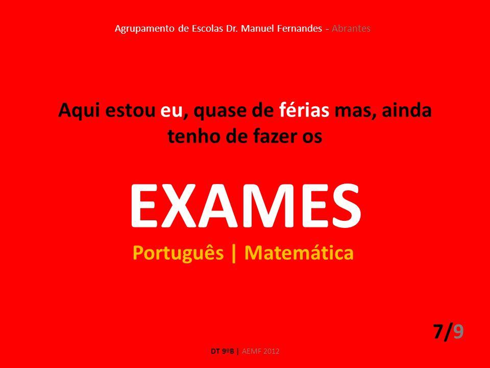 Agrupamento de Escolas Dr. Manuel Fernandes - Abrantes