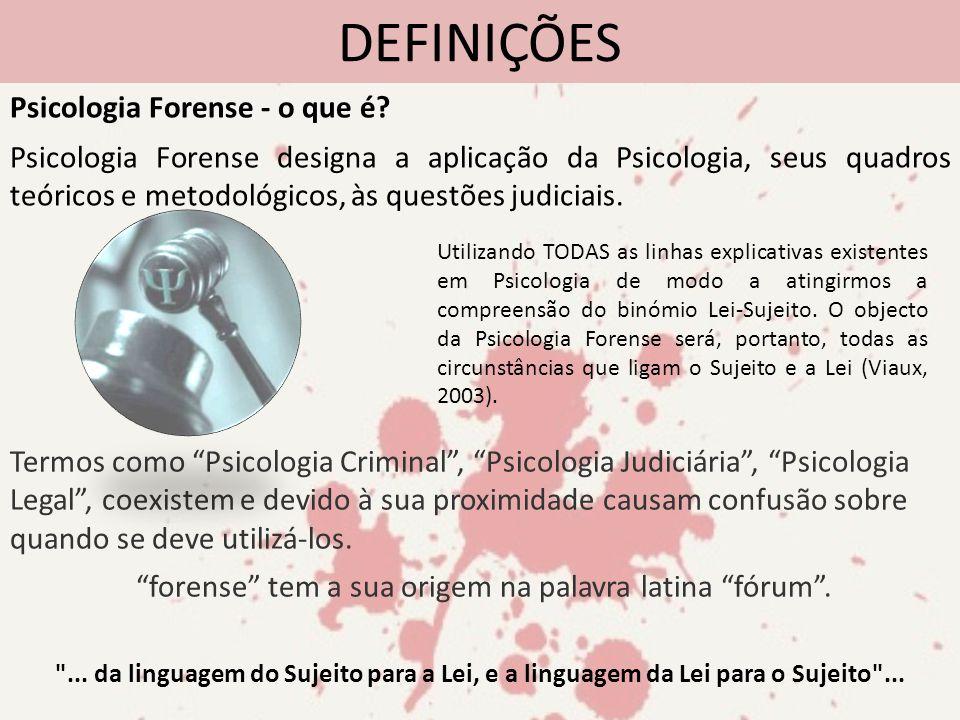 forense tem a sua origem na palavra latina fórum .