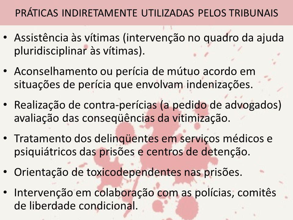 PRÁTICAS INDIRETAMENTE UTILIZADAS PELOS TRIBUNAIS