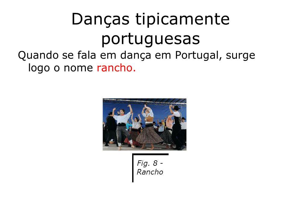 Danças tipicamente portuguesas
