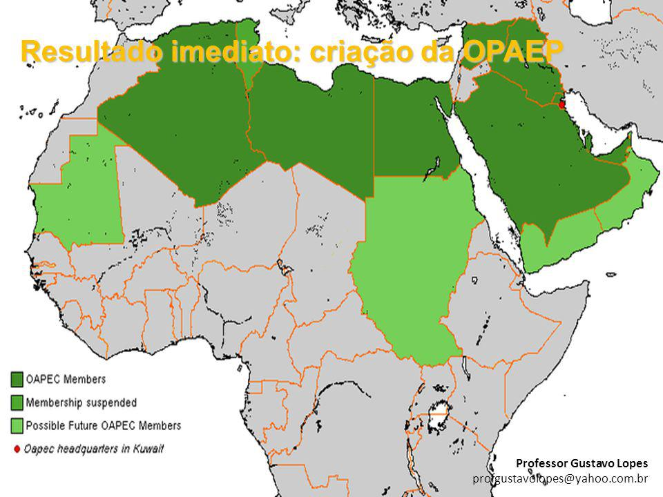 Resultado imediato: criação da OPAEP