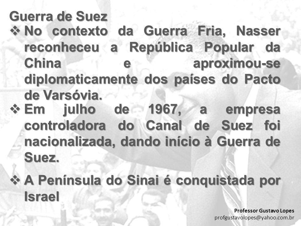 A Península do Sinai é conquistada por Israel