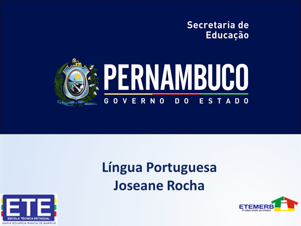 Língua Portuguesa Joseane Rocha