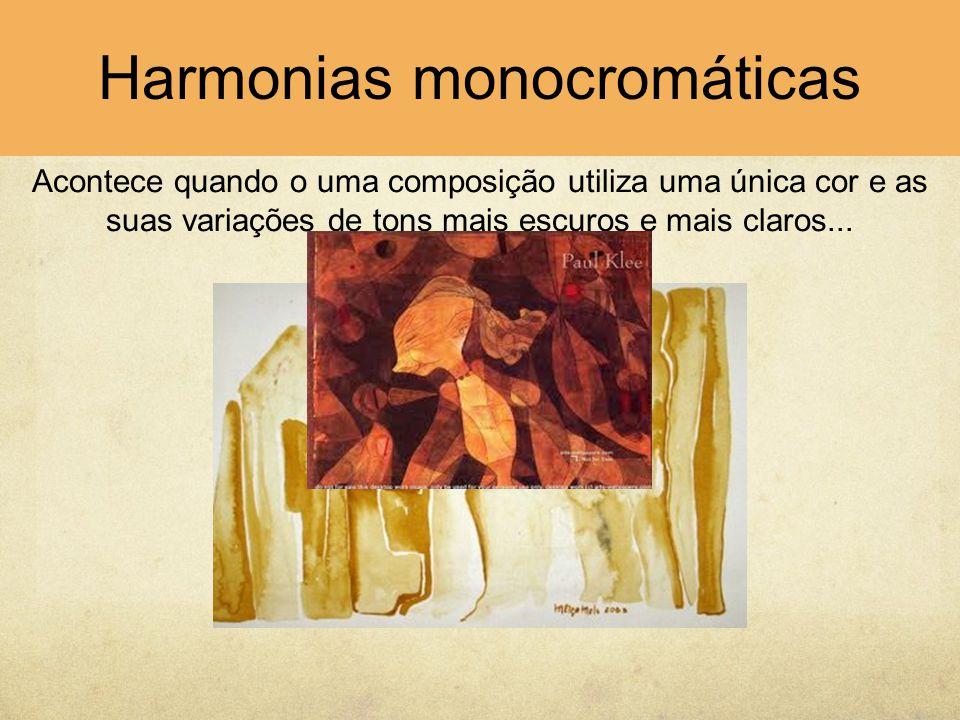 Harmonias monocromáticas