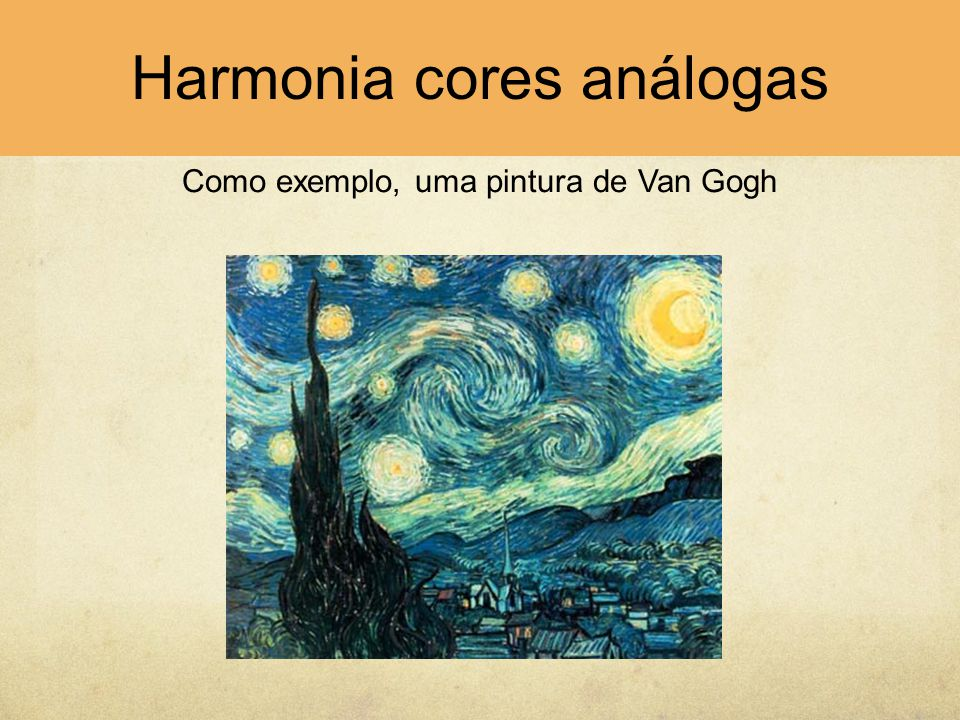 Harmonia cores análogas