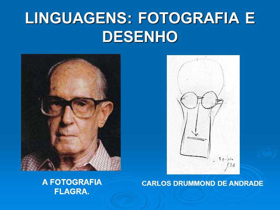 LINGUAGENS: FOTOGRAFIA E DESENHO