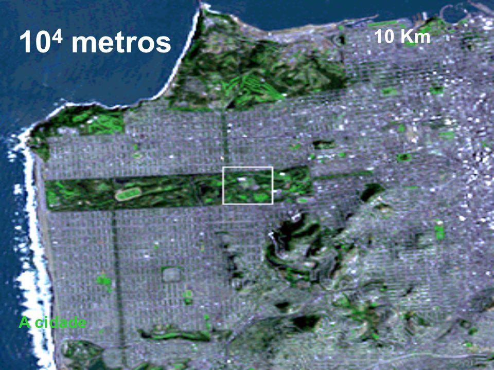 104 metros 10 Km A cidade