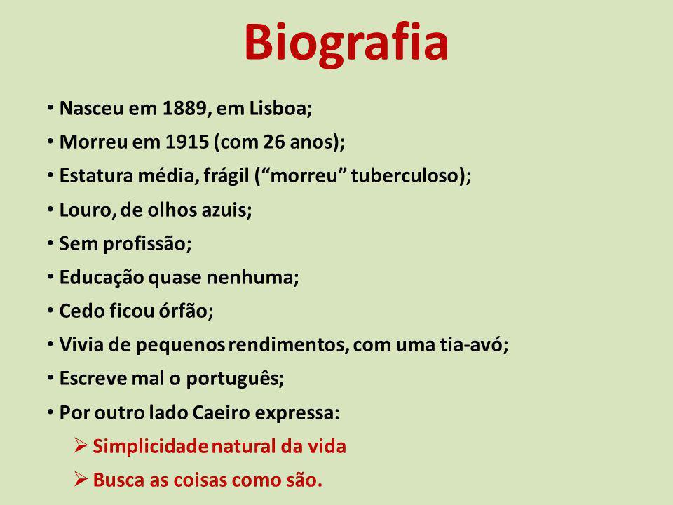 Biografia Nasceu em 1889, em Lisboa; Morreu em 1915 (com 26 anos);