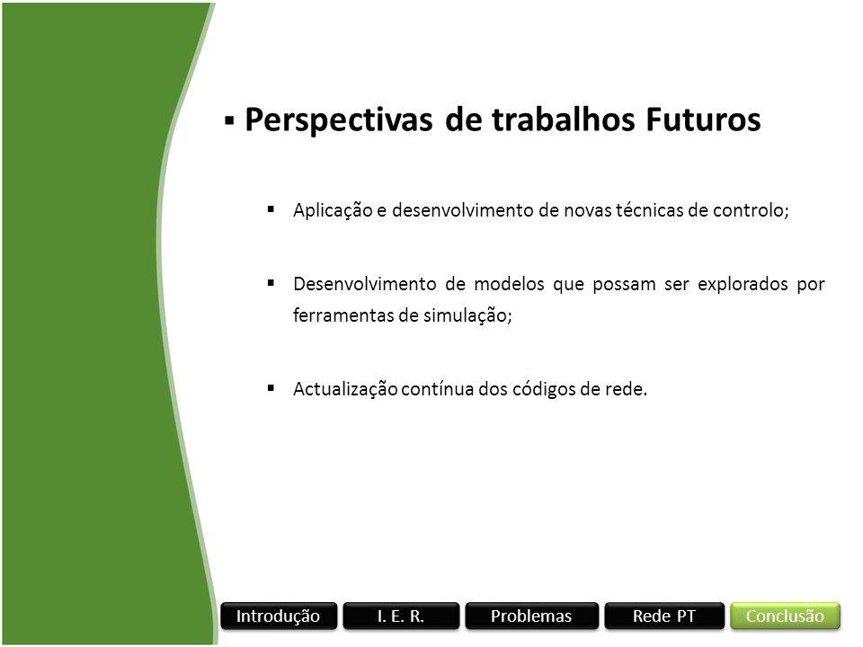 Perspectivas de trabalhos Futuros