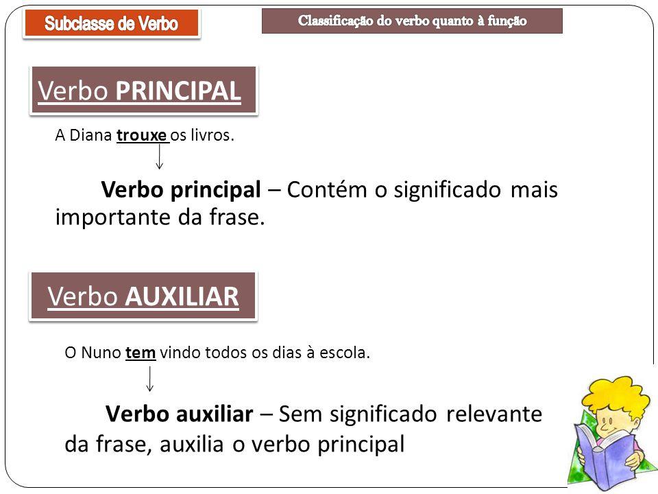 Classificação do verbo quanto à função