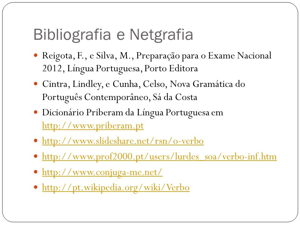 Bibliografia e Netgrafia