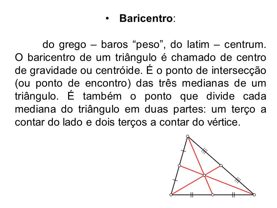 Baricentro: