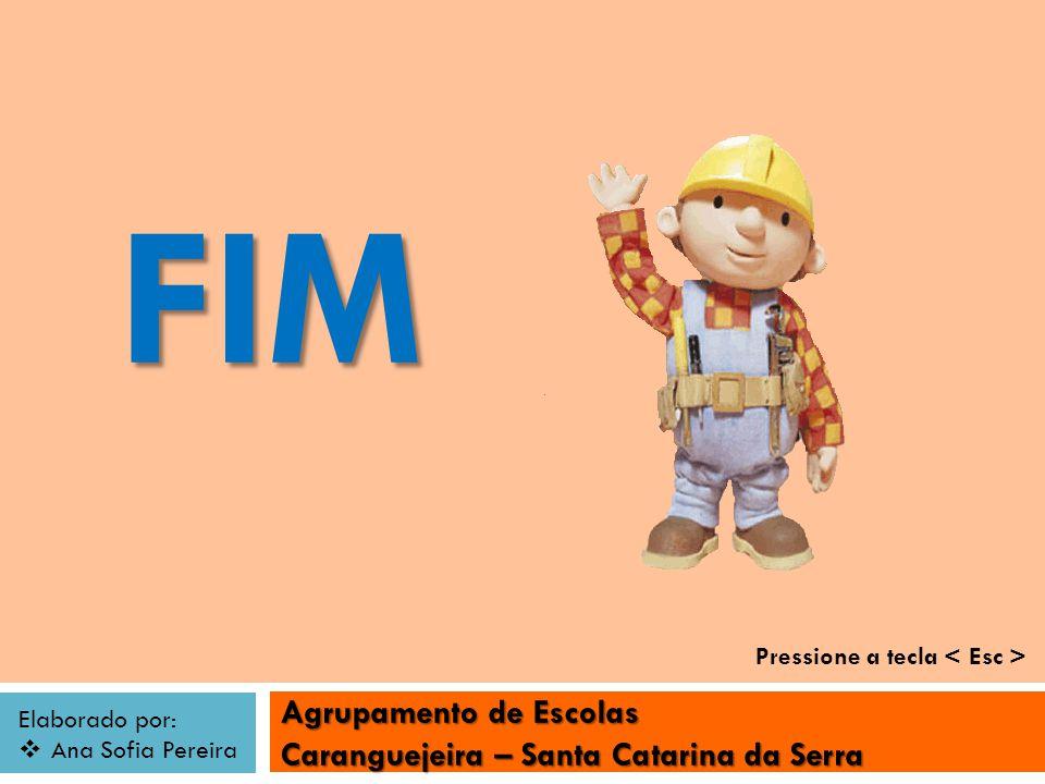 FIM Pressione a tecla < Esc >