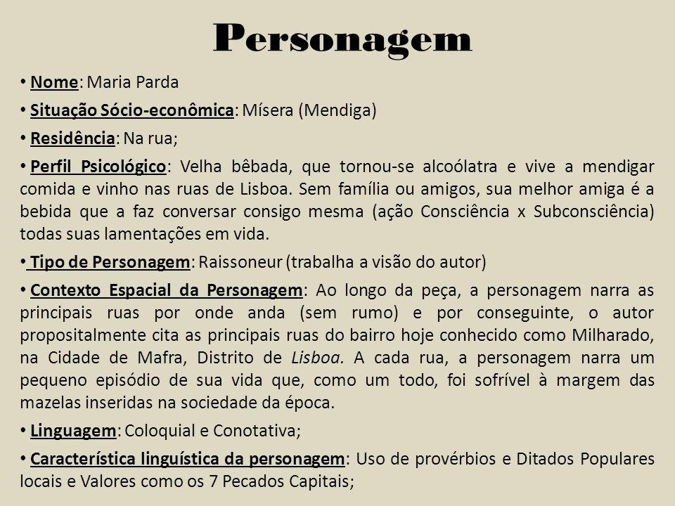 Personagem Nome: Maria Parda
