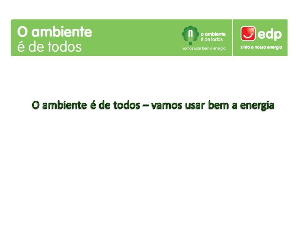 O ambiente é de todos – vamos usar bem a energia