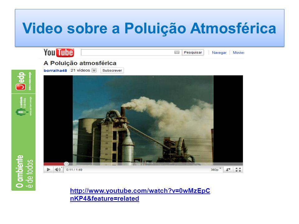 Video sobre a Poluição Atmosférica