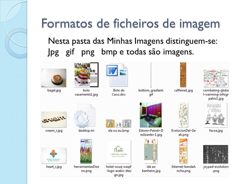 Formatos de ficheiros de imagem