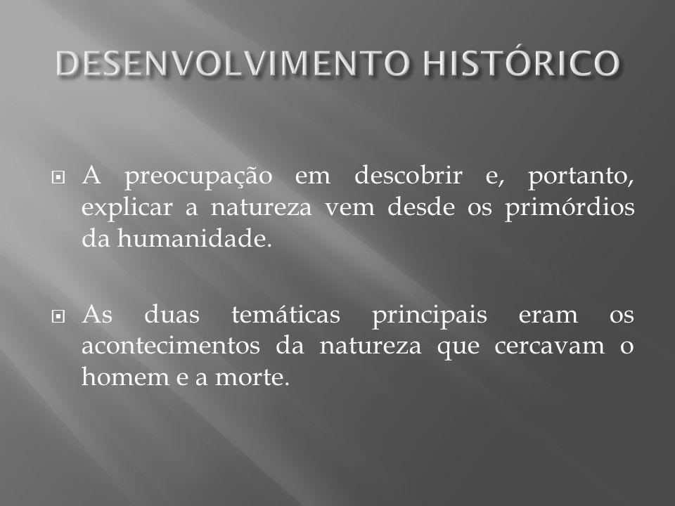 DESENVOLVIMENTO HISTÓRICO