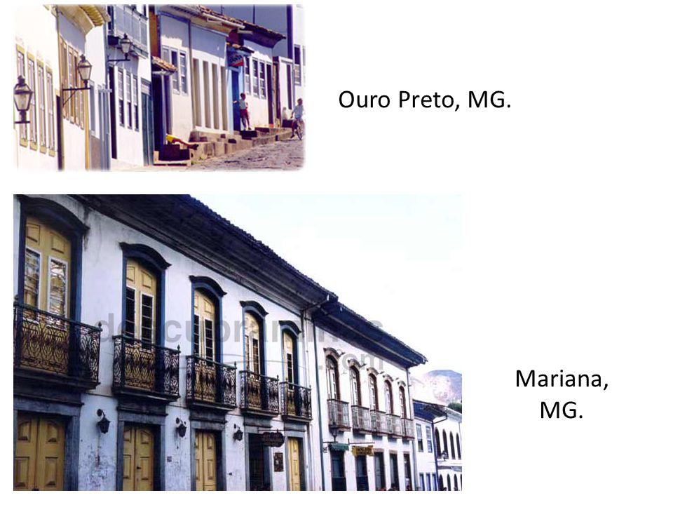 Ouro Preto, MG. Mariana, MG.