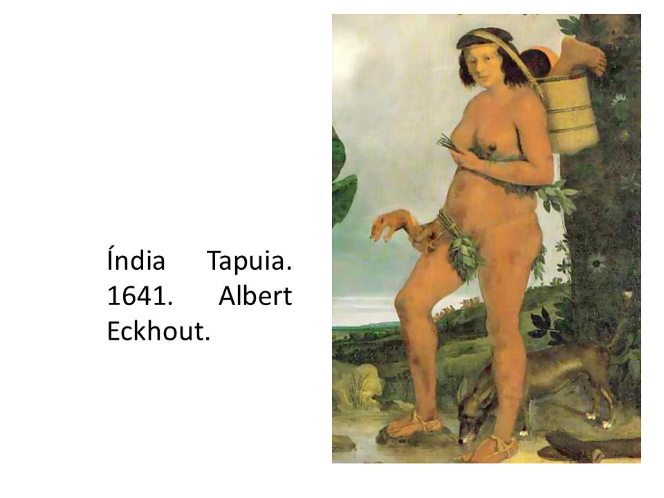 Índia Tapuia. 1641. Albert Eckhout.