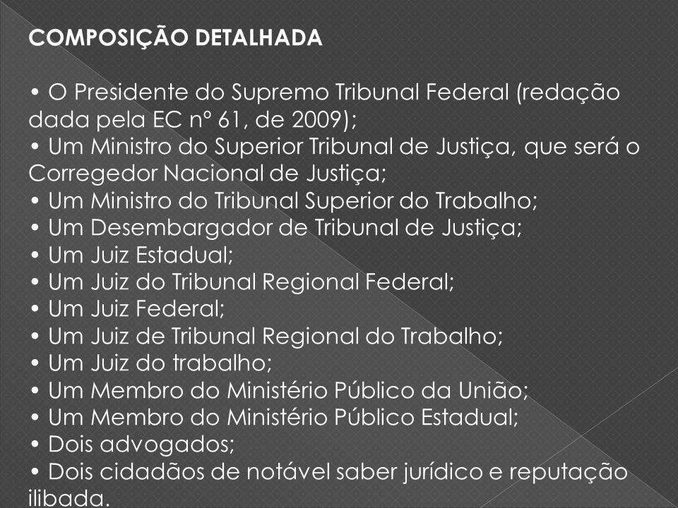 COMPOSIÇÃO DETALHADA