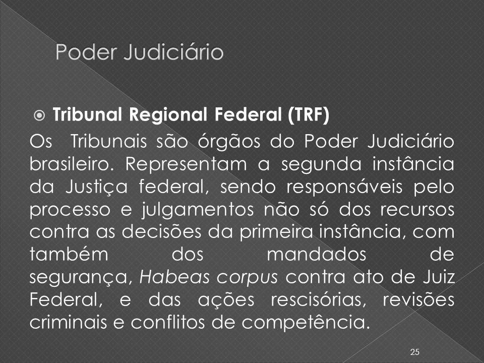 Poder Judiciário Tribunal Regional Federal (TRF)