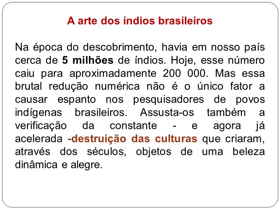 A arte dos índios brasileiros