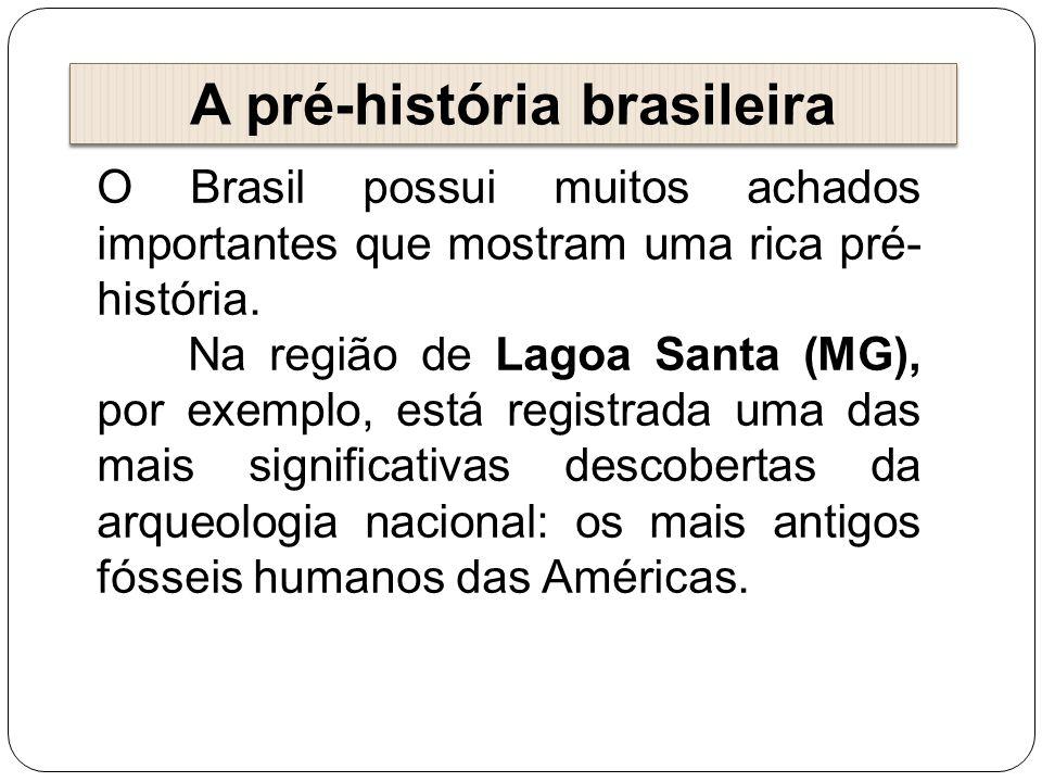 A pré-história brasileira