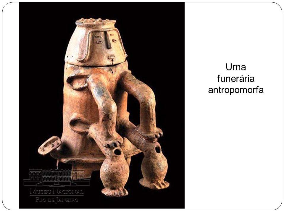 Urna funerária antropomorfa