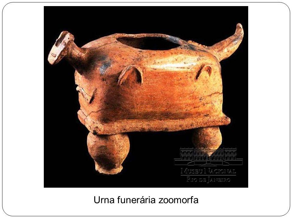Urna funerária zoomorfa