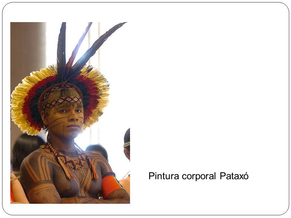 Pintura corporal Pataxó