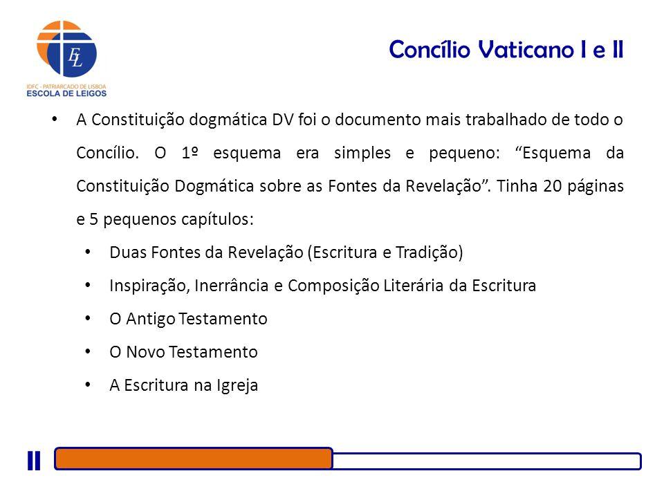 Concílio Vaticano I e II