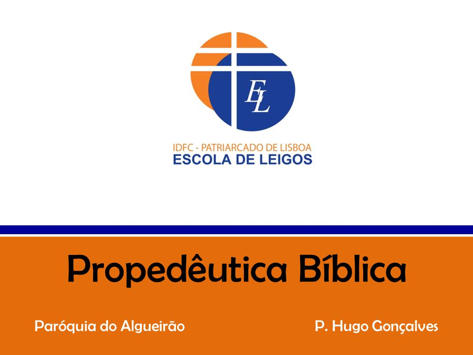 Paróquia do Algueirão P. Hugo Gonçalves