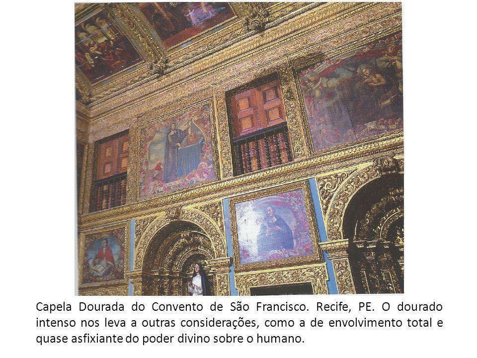 Capela Dourada do Convento de São Francisco. Recife, PE