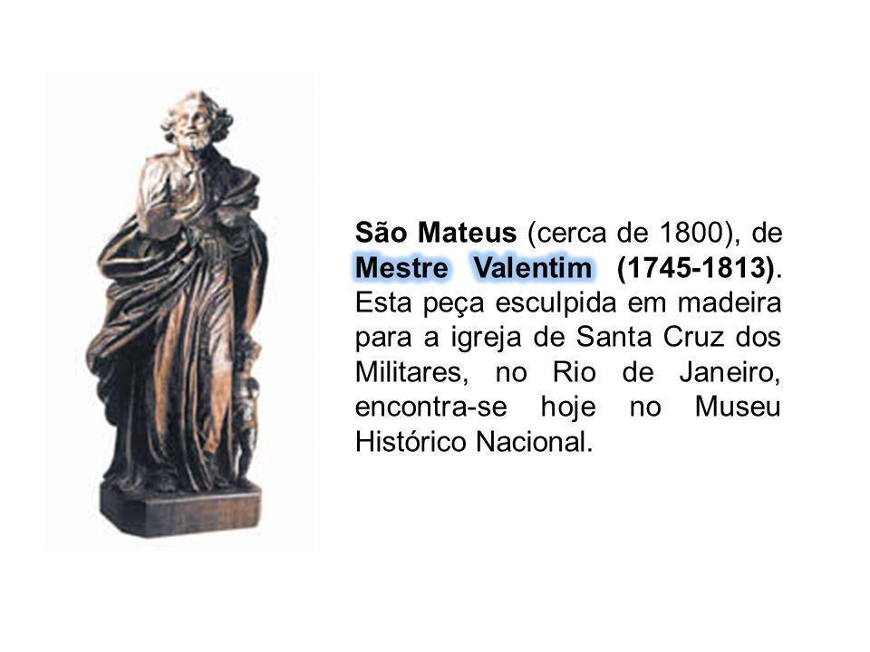 São Mateus (cerca de 1800), de Mestre Valentim (1745-1813)