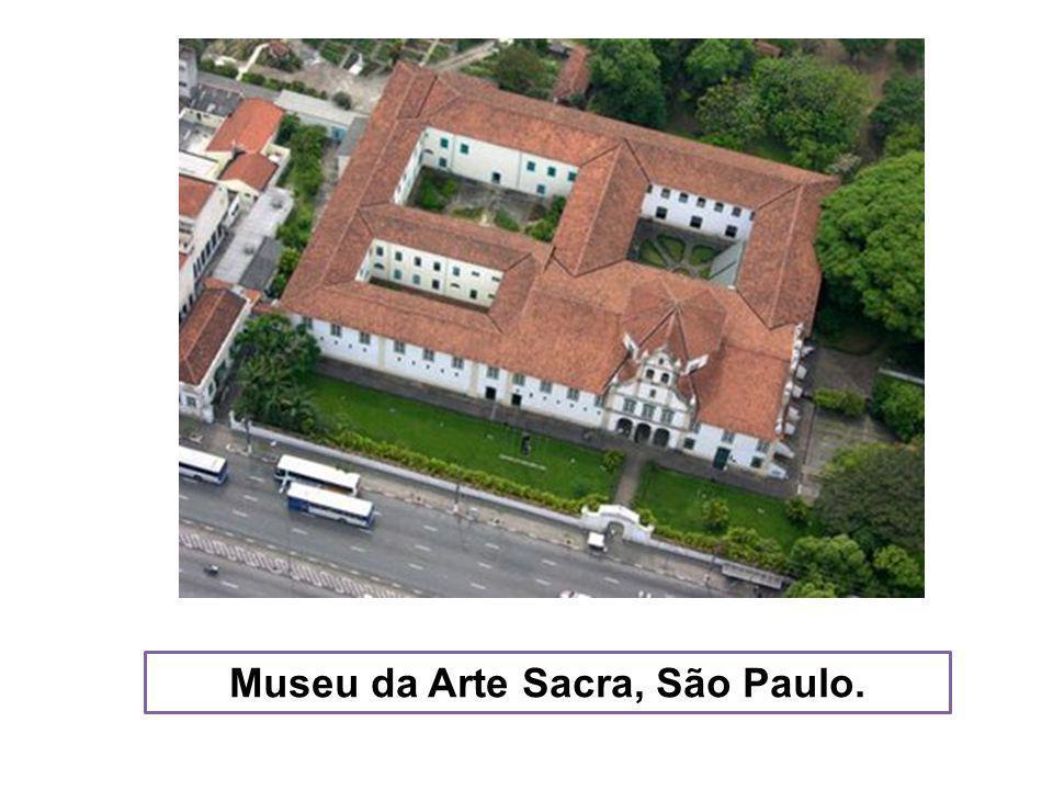 Museu da Arte Sacra, São Paulo.