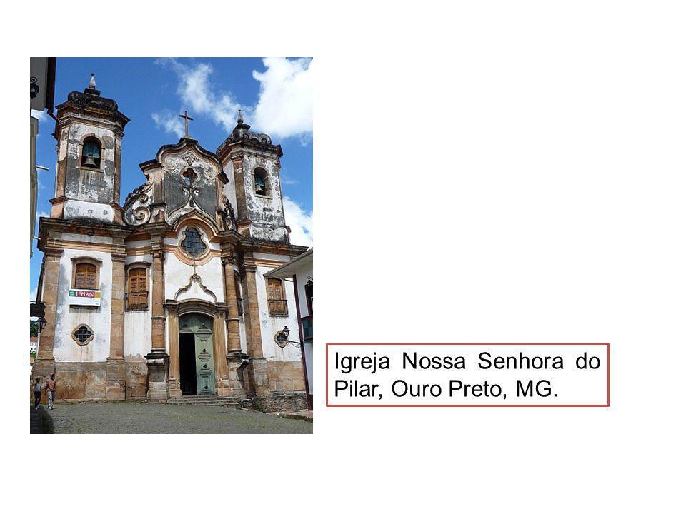 Igreja Nossa Senhora do Pilar, Ouro Preto, MG.