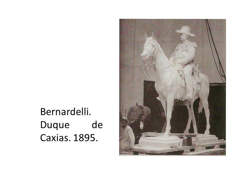 Bernardelli. Duque de Caxias. 1895.